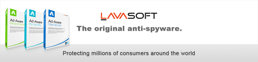 Lavasoft. The original anti-spyware